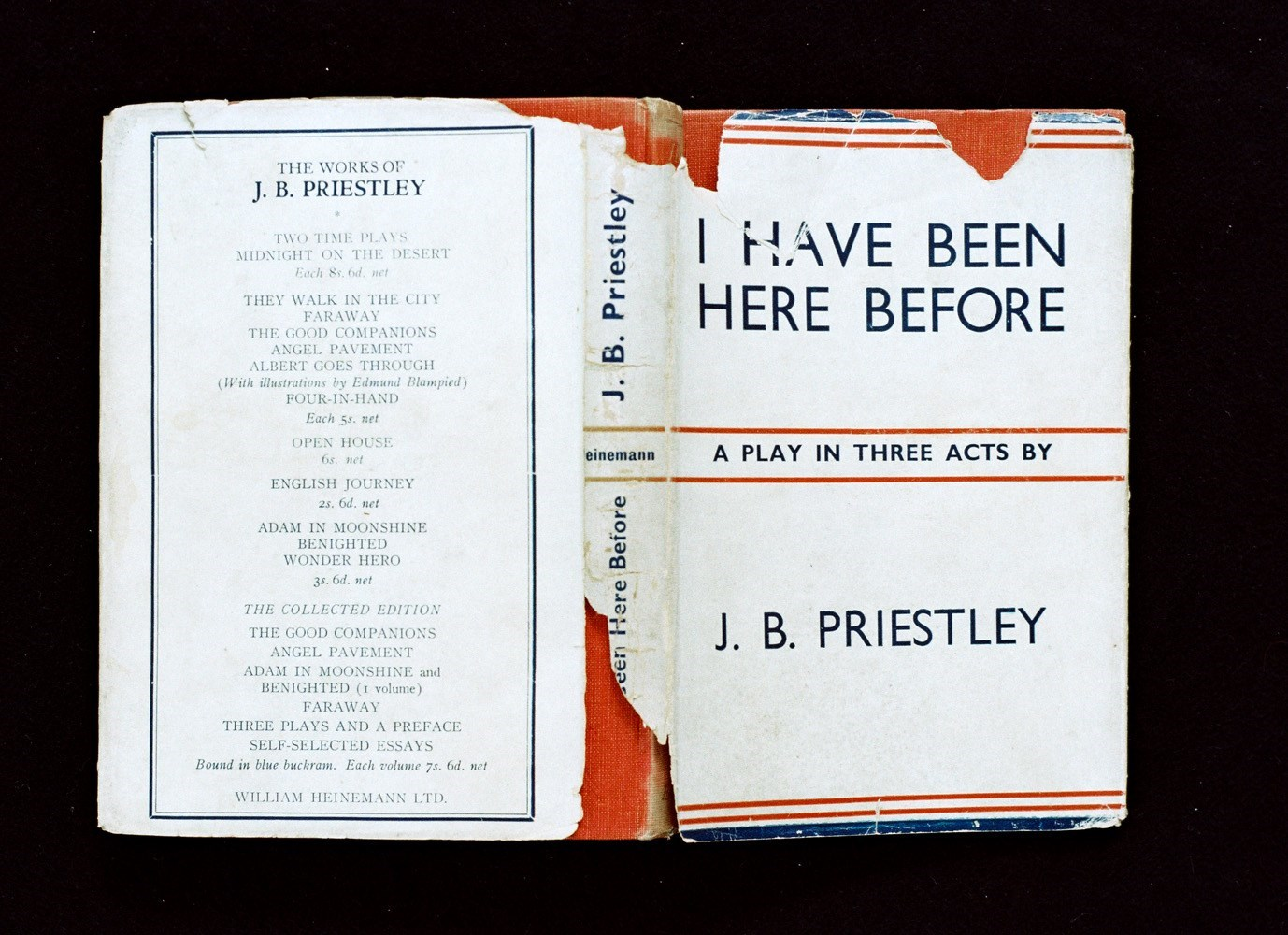 I have been here before (J.B. Priestley; William Heinemann LTD), <br />25 x 34 cm, C-Print, 2014